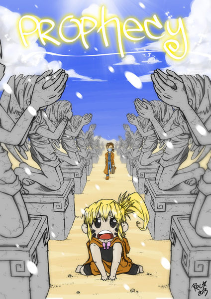 Prophecy Webmanga von Racuun