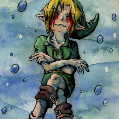 FanArt Creeps Pasta Ben Drowned Zelda Majora's Mas von Racuun