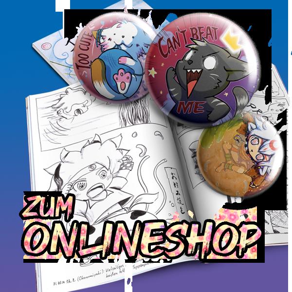 Racuun Manga Merchandise Onlineshop